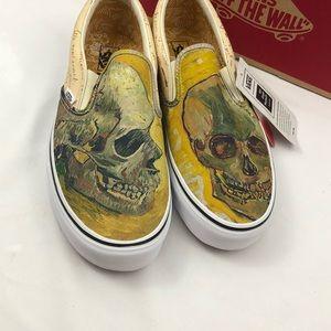 Vans Shoes - Vans X Vincent Van Gogh Skull Size 07f91792a